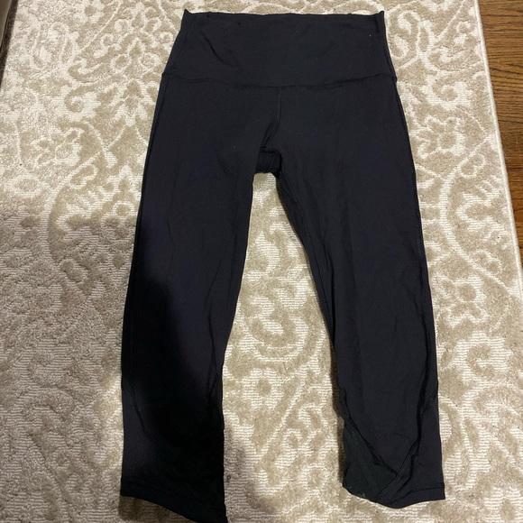 lululemon athletica Pants - Lululemon Wunder under size 10 crop